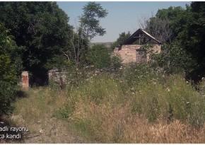 Footage from Abilja village of Gubadli