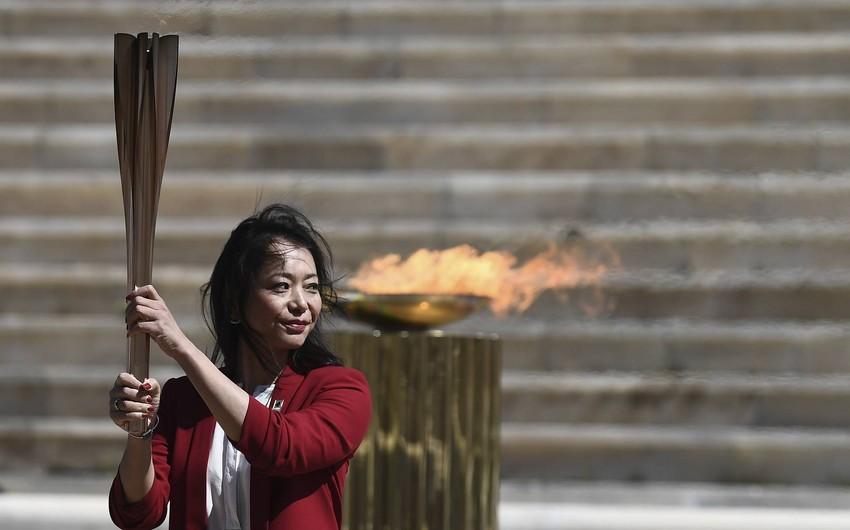 Tokio olimpiadasının məşəli Yaponiyada alovlandırıldı
