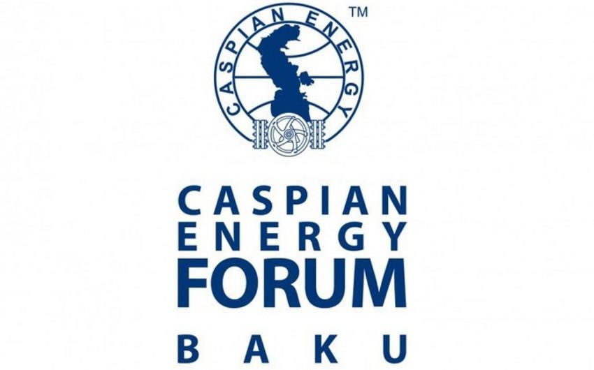 """""""Caspian Energy Forum Baku - 2018""""də 1500 deleqat iştirak edəcək"""