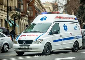 Bakıda avtomobilin vurduğu piyada xəstəxanaya aparılarkən yolda öldü