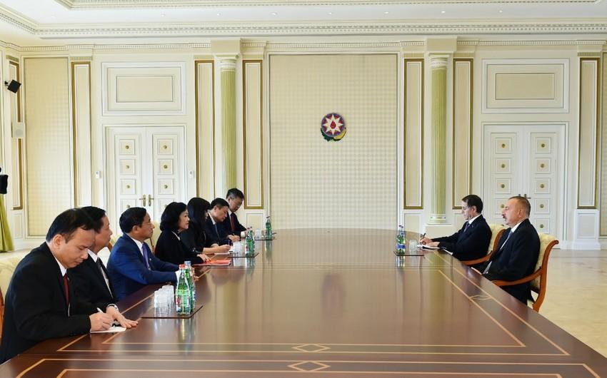 Prezident İlham Əliyev Vyetnam Kommunist Partiyası Mərkəzi Komitəsinin katibini qəbul edib - YENİLƏNİB