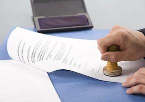Prezident notariat haqqında qanunda dəyişikliyi təsdiqlədi