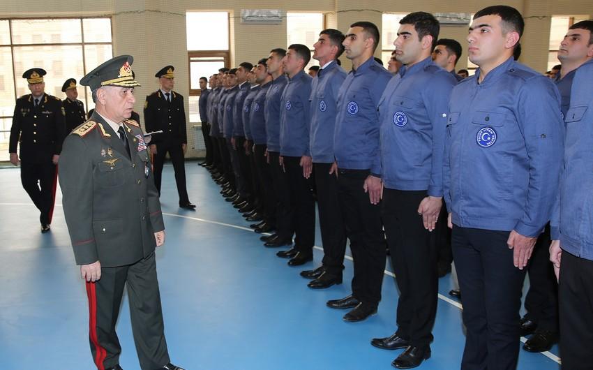 348 nəfər daxili işlər orqanlarında xidmətə qəbul olunub