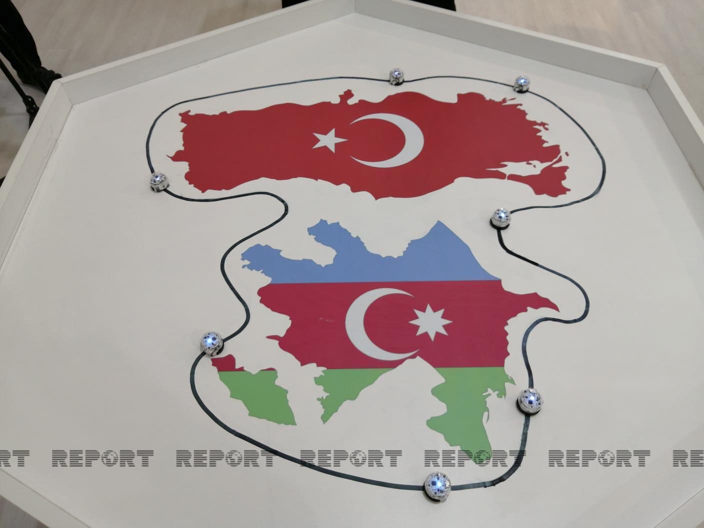 """Azərbaycan hərbi texnikaları """"Teknofest-2021"""" festivalında nümayiş olunur - FOTO"""