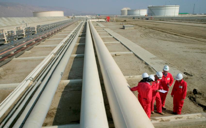 Keçən il Gürcüstan ərazisindəki neft kəmərləri ilə 281,7 milyon barel neft daşınıb