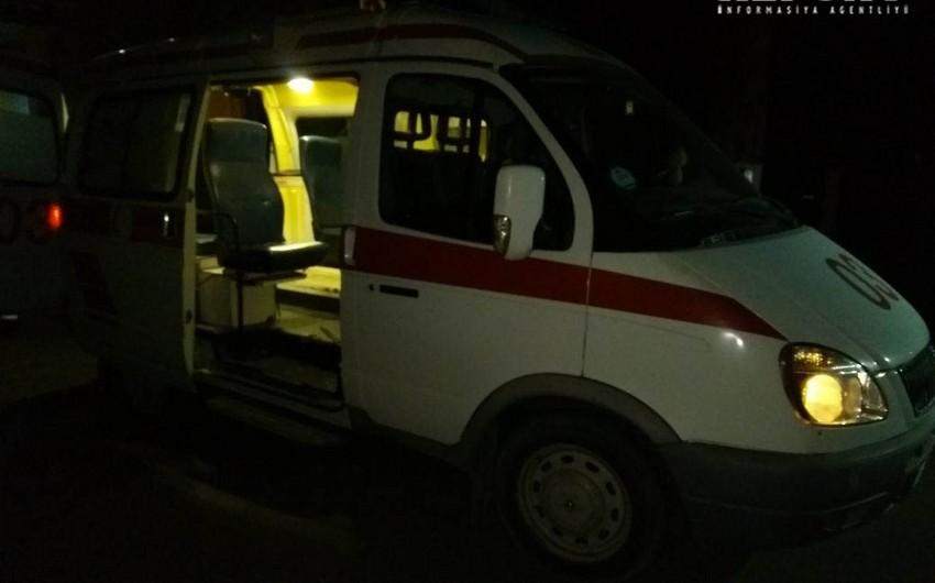 Sabirabadda yol qəzası nəticəsində 1 nəfər ölüb, 1-i yaralanıb