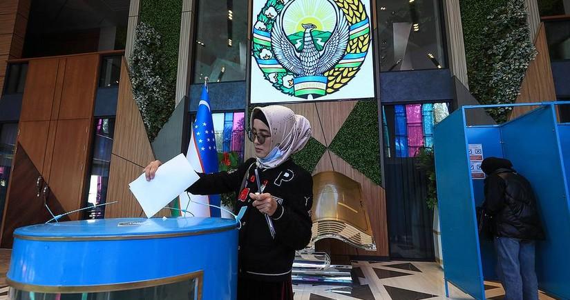 Завершилось голосование на выборах президента Узбекистана