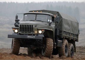 Armenian military equipment, weapons and cars seized