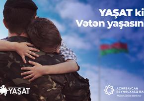 Azərbaycan Beynəlxalq Bankı YAŞATFonduna 1 milyon manat köçürdü