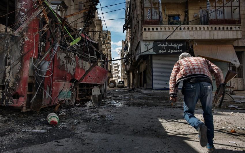 Suriyanın Hələb şəhərində 202 dinc sakin öldürülüb