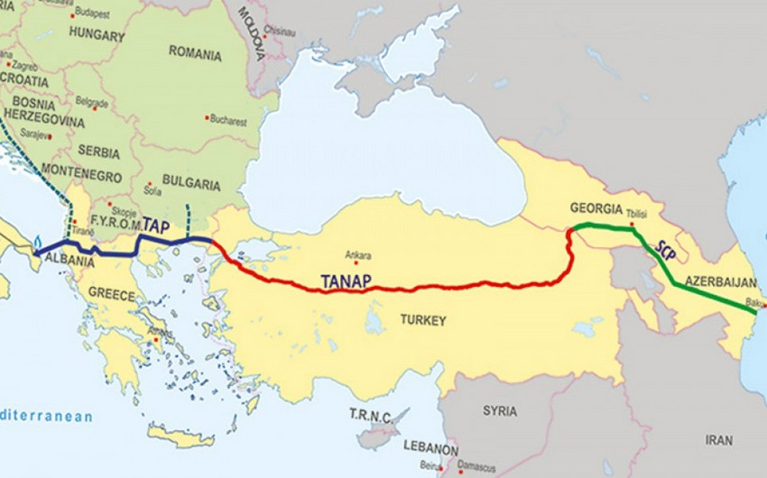 Azerbaijan will earn $50 bln on Southern Gas Corridor