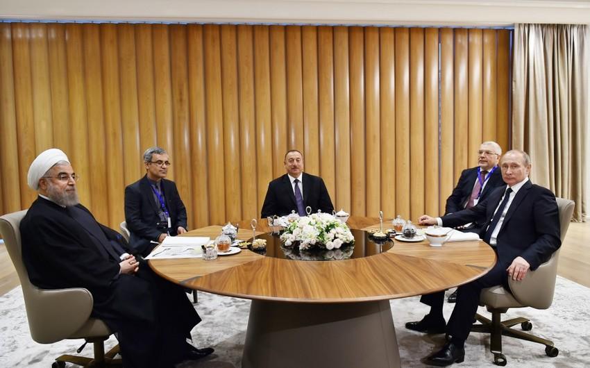Россия Иран и Азербайджан выступают за развитие сотрудничества в газовой сфере