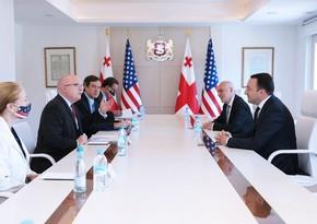 ABŞ rəsmisi Gürcüstan baş naziri ilə regiondakı yeni geosiyasi vəziyyəti müzakirə edib