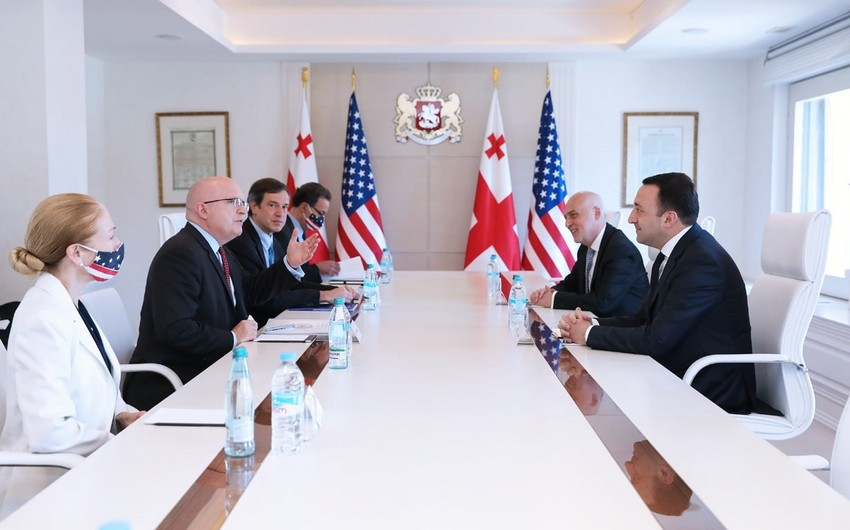 US official mulls new geopolitical situation in region with Georgian PM