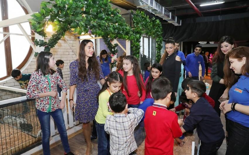 Heydər Əliyev Fondu uşaqlar üçün növbəti əyləncə proqramı təşkil edib