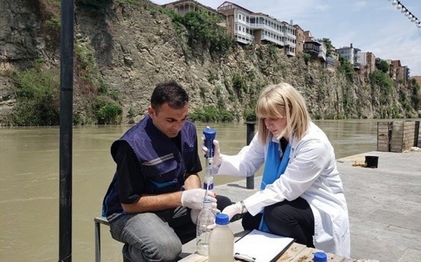 Gürcüstanda Kürün çirklənmə səviyyəsi öyrənilir