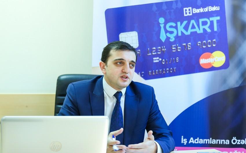 """Anar Abbasov: """"İşkart şirkətin əməliyyat xərclərini azaldır, nağd pulun daşınmasına və saxlanılmasına əlavə resurs sərf etmir"""""""