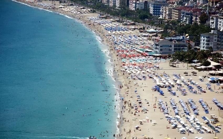 Antalya bu il rekord sayda əcnəbi turist qəbul edib