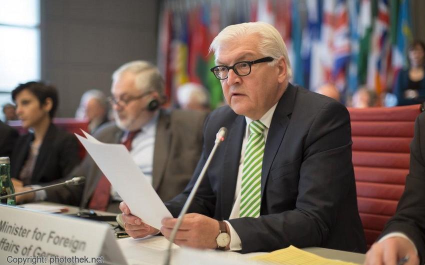 Ştaynmayer Almaniyanın ATƏT-dəki sədrliyinin proqramını təqdim edib