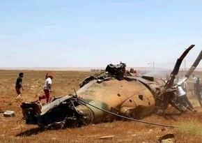Liviyada hərbi helikopterlər toqquşub, ölənlər var