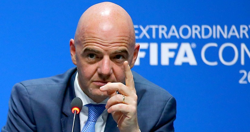 FIFA prezidenti dünya çempionatının yeni formatda təşkilinin üstünlüklərini izah edib