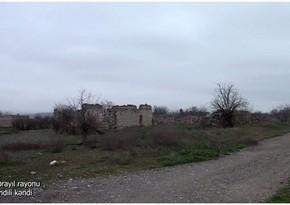 Освобожденное от оккупации село Мехдили Джебраильского района
