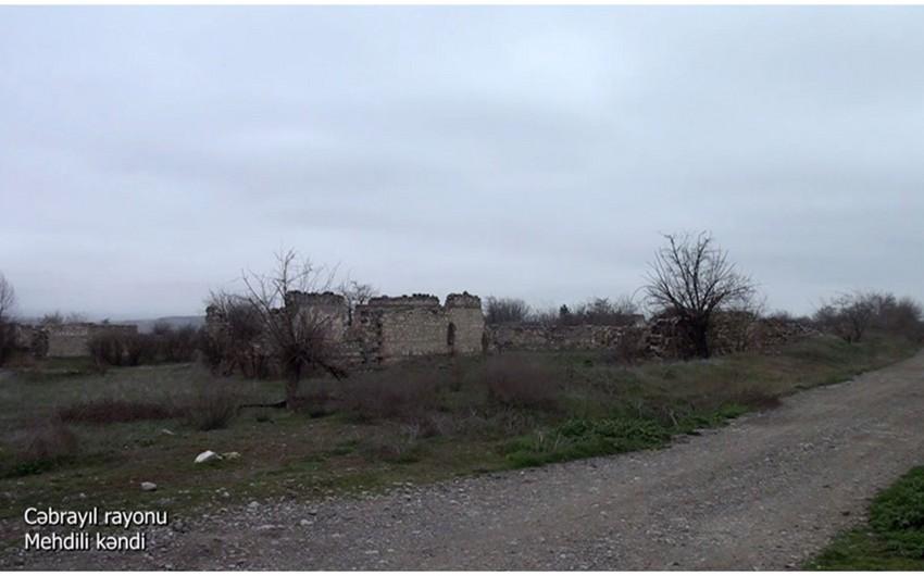 Cəbrayılın Mehdili kəndi