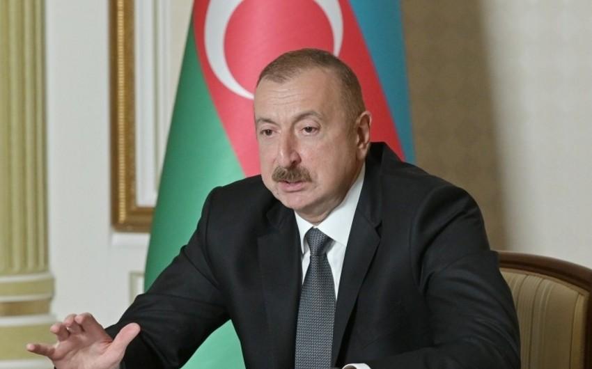 Ильхам Алиев:Руководитель Армении в лице Пашиняна - это ставленник Сороса