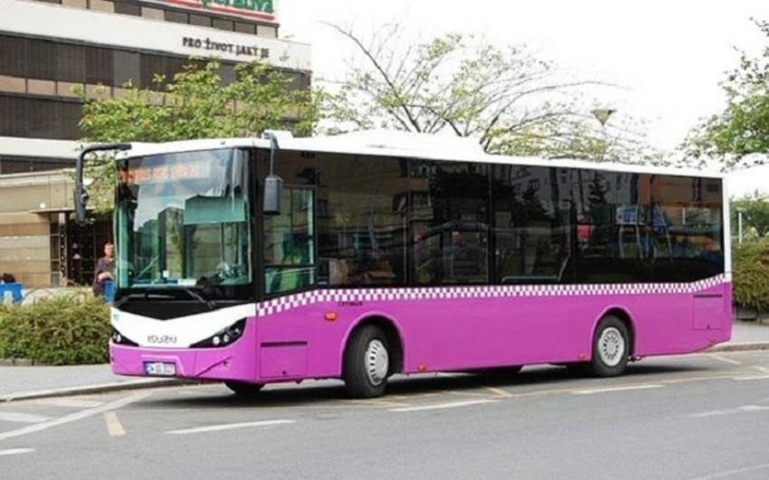 Paytaxtda bir sıra avtobusların hərəkət istiqamətində müvəqqəti dəyişiklik ediləcək
