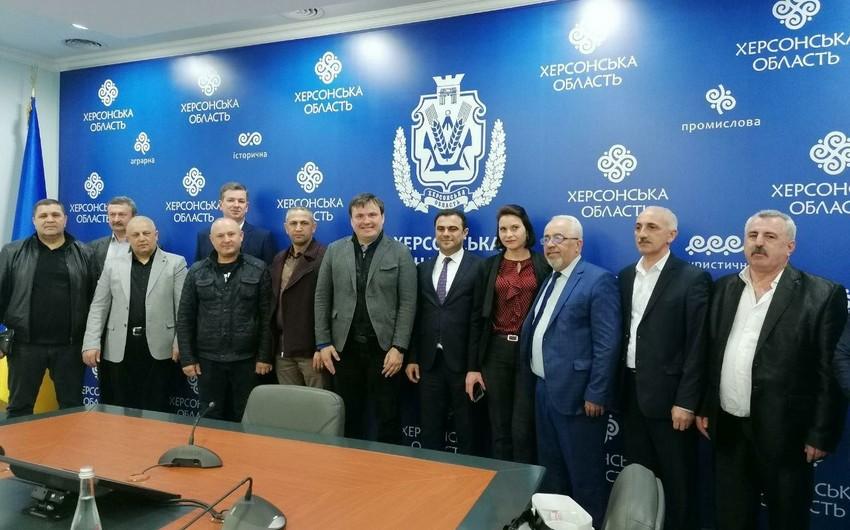 Xersonda Azərbaycan Mədəniyyət Mərkəzi yaradıla bilər