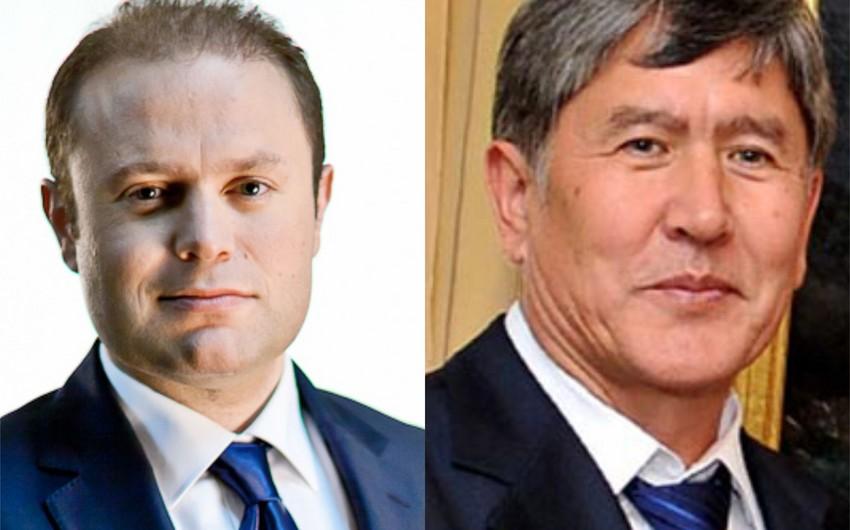 Qırğızıstan Prezidenti və Maltanın baş naziri Azərbaycana səfər edəcək