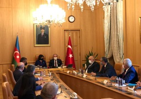 Parliament speakers of Azerbaijan and Turkey meet in Ankara