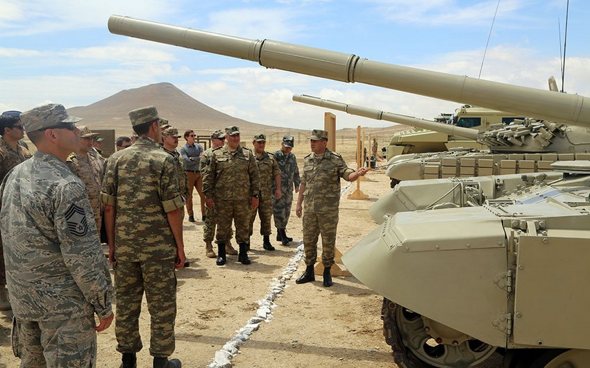 Military Attachés accredited to Azerbaijan visit military unit