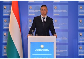 """Péter Szijjártó: """"Hungary will be able to buy gas not only from Azerbaijan but also from Turkmenistan via the Southern Corridor"""""""
