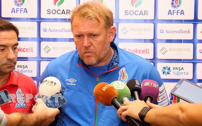 Просинечки: На игре с Хорватией мы добьемся успеха