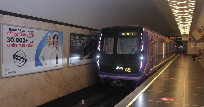 AVRO-2020 yarışları dövründə Bakı metrosu gecə saat 2-dək işləyəcək