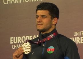 Азербайджанский борец стал чемпионом Европы - ФОТО