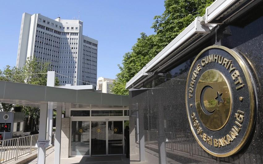 Türkiyə XİN Fransa Senatının qətnaməsini pisləyib
