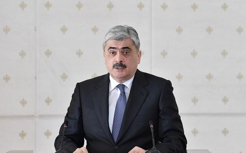 Президент наградил Самира Шарифова орденом Шохрат