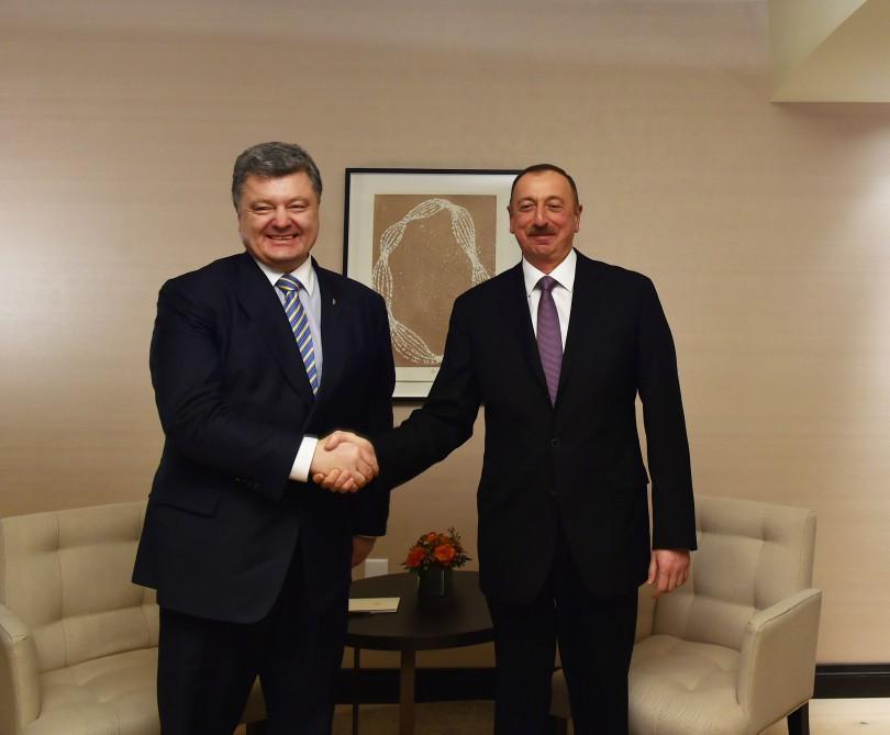 Президенты Азербайджана и Украины поговорили о транзите в обход России