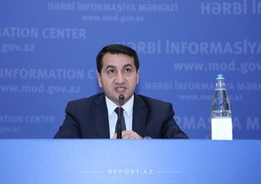 Hikmat Hajiyev: Armenia commits terrorist acts at the state level