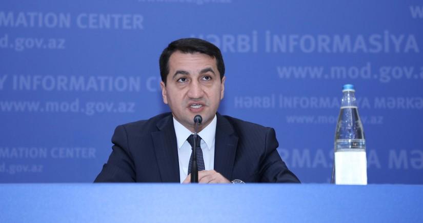 Гаджиев: Армения в ответе за очередное нарушение прекращения огня