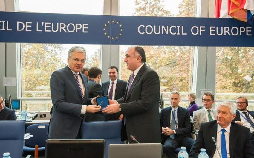 Азербайджан завершил председательство в Комитете министров Совета Европы