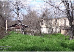 Qubadlının Ulaşlı kəndinin görüntüləri