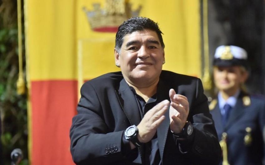 Dieqo Maradona xəstəxanaya yerləşdirilib