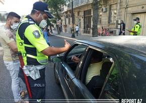 Police conduct 'face mask raid' in Baku
