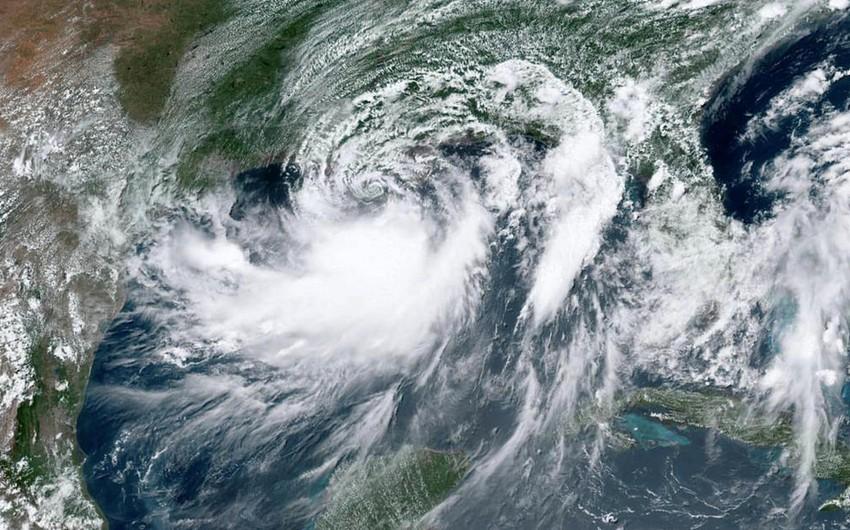 Barri qasırğası Luiziana sahillərinə çatıb