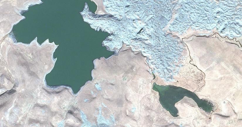 Kəlbəcərin kosmosdan görüntüsü