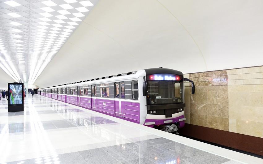Bakı metrosu  -