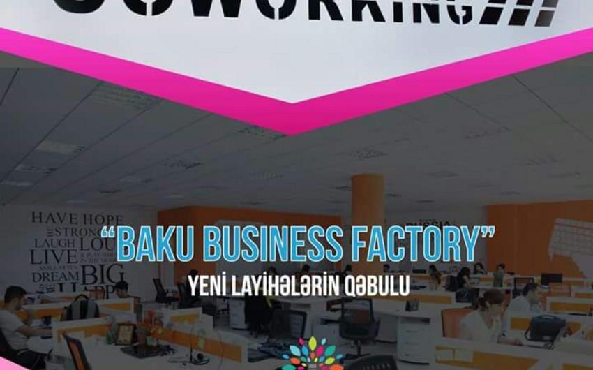 """""""Baku Business Factory"""" kovörker mərkəzi üçün yeni layihələrin qəbuluna start verib"""